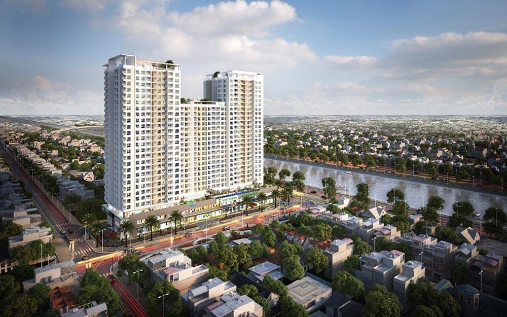 Cập nhật tiến độ dự án Viva Riverside - Tháng 4/2018