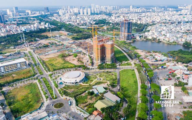 Đòn bẩy hạ tầng kích thị trường BĐS khu Nam TP.HCM vượt mặt khu Đông