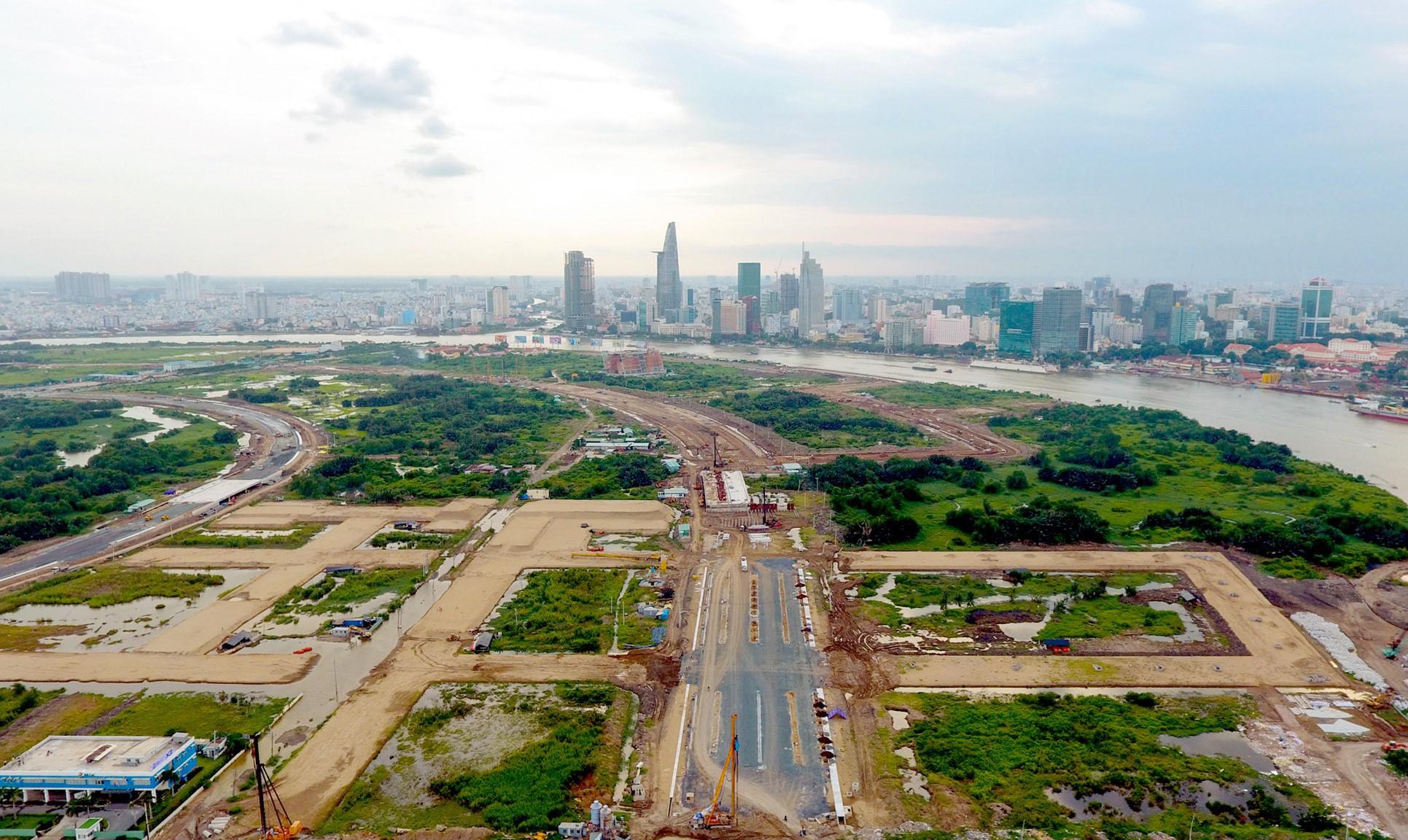 TP.HCM xin Chính phủ điều chỉnh 3 dự án tại Thủ Thiêm